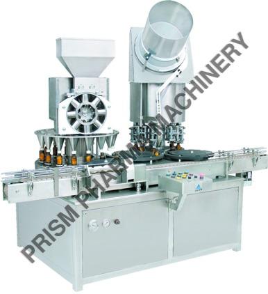 Monoblock -Rotary Dry Syrup Powder Filling & Sealing Machine