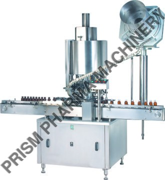 Automatic ROPP Cap Sealing Machine - Single Head