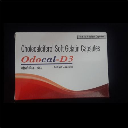Cholecalciferol Soft Gelatin Capsules