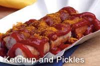 ketchup sausage