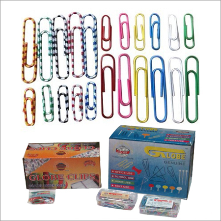 Plastic Coated Colored Gem Clips