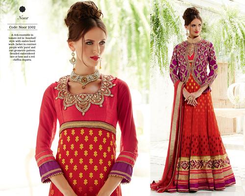 Designer Anarkali Salwar Suits