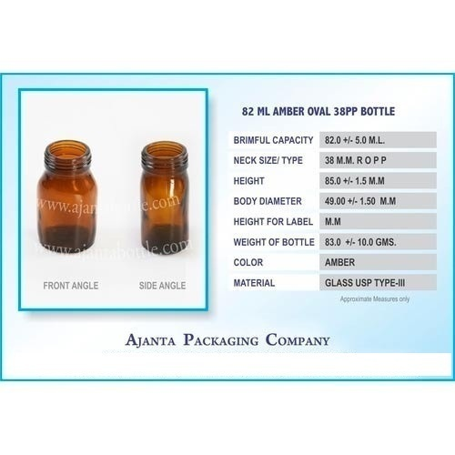82ml Oval Bottle