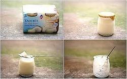 Yogurt in Glass Is Fresh And Tasty