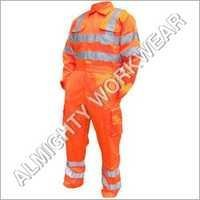 High Visibility Boiler Suit