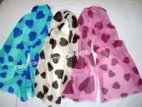 Wool Heart Printed Scarves