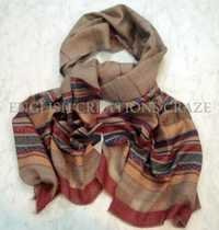 Wool Melange Heavy Quality Scarves