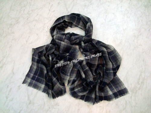 Wool Check & Stripes Scarves