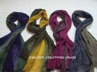 Wool Ombre Dyed Scarves
