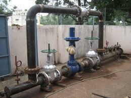 Pressure Reducing De-Super Heating Station