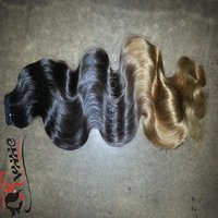 Ombre Color Bounce Wavy Remy Hair