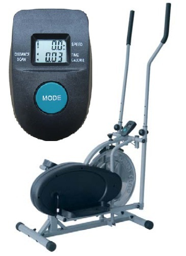 ELLIPTICAL TRAINER with Stainless Steel