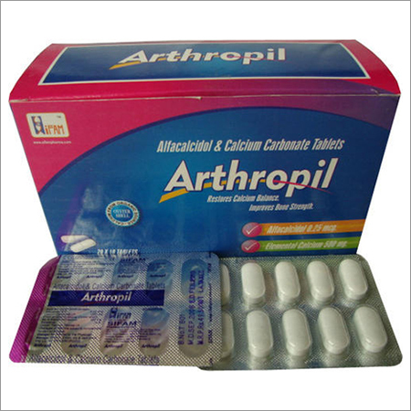 Alfacalcidol Calcium Tablets