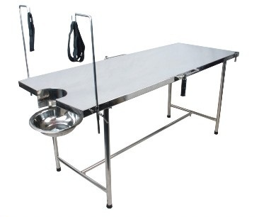 Delivery table Powder coated