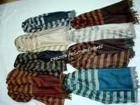 Wool Jacquard Scarves