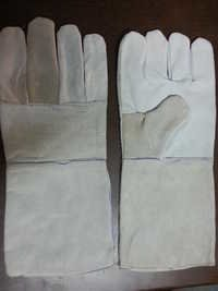 LEATHER HAND GLOVES.