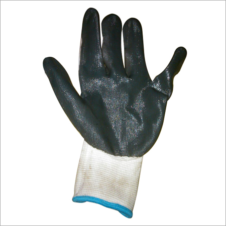 RUBBER COTTON MIXED HAND GLOVES
