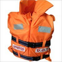 SAFETY LIFE JACKET.