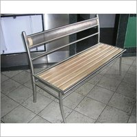 Metal Outdoor Bench