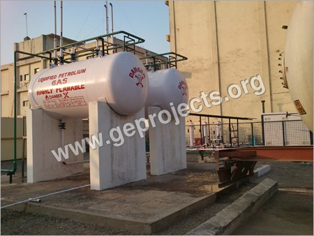 Ground Propane Lpg Tank Installation