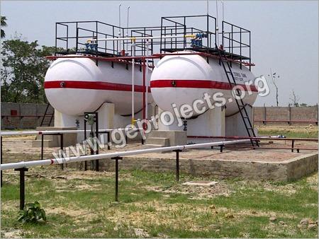 Lpg Gas Tank Installation