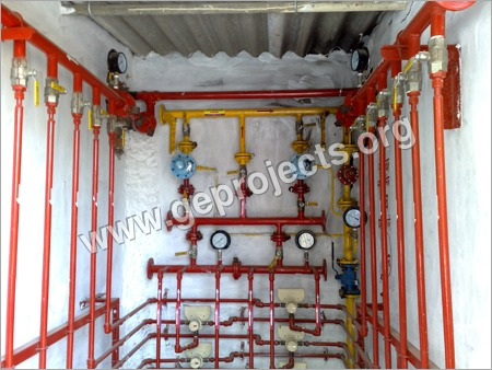 Lpg Pressure Reducing Station