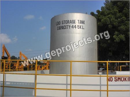 Vertical Oil Storage Tanks
