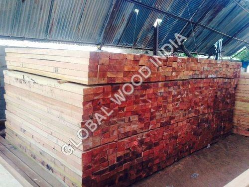 Kapur Wood Sawn Size Stack