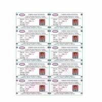 Sticker Sheet With Polyester Overlay