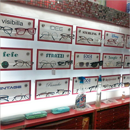 Fashion Eyeglass Displays