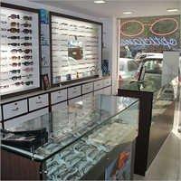 Optical Shop Display Cabinets