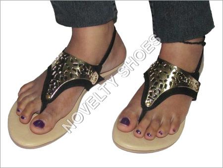 Ladies Flat Designer Sandal