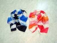 Silk Stripy Scarves