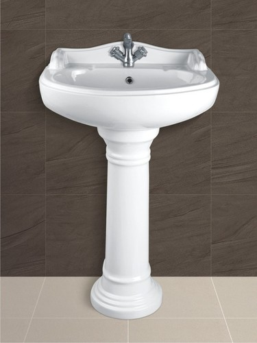 Ceramic Pedestal Wash Basin