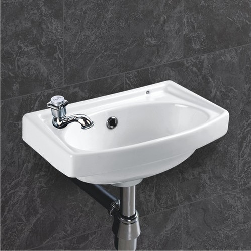 Square wash basins