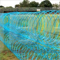 Tangle Wire Tape Fence