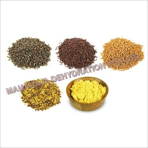 Mustard Seeds and Powder