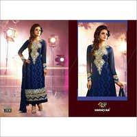 Semi Stitched Georgette Salwar Kameez