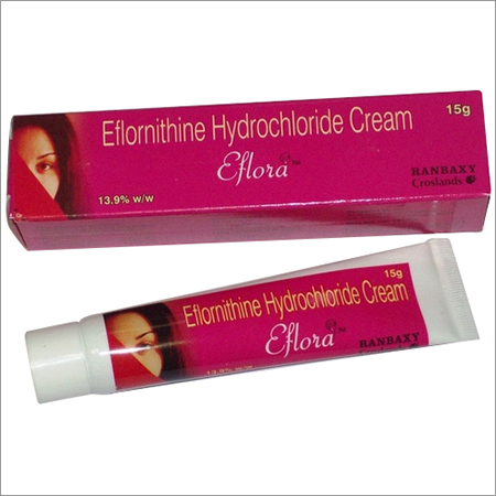 Eflornithine Hydrochloride Cream