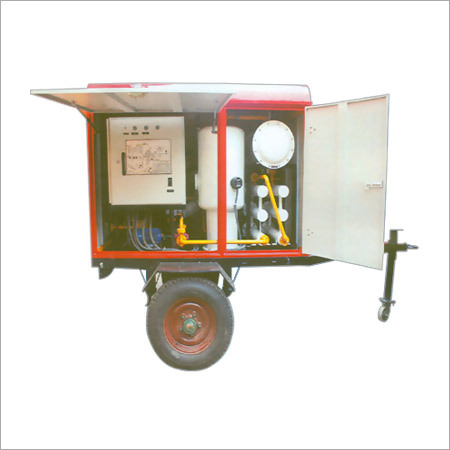 Portable Transformer Oil Filtration Machine