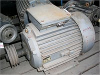 Three Phase Electrical Motor Assembly