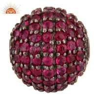 Natural Ruby Gemstone Finding Jewelry
