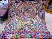 Kalamkari Needle Work Shawls