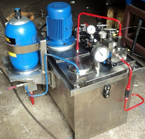STAINLESS STEEL HYDRAULIC POWER PACK