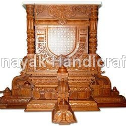 Wooden Temple Architectural
