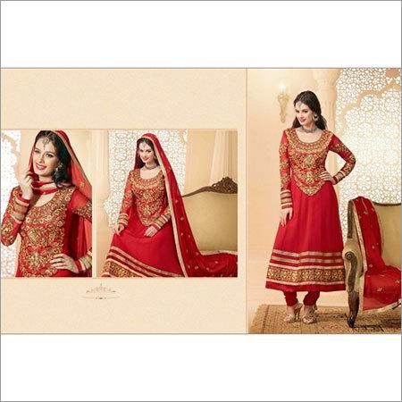Designer Embroidery Anarkali Suit