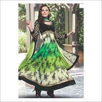 Designer Printed Anarkali Suit