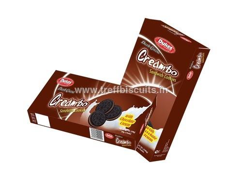 Dark Cocoa with Chocolate Cream