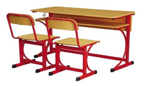 Double seater school chair / Classroom Student Desk Furniture