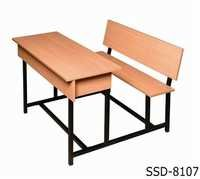 Double Seater School Bench & Desk / Classroom Student Desk Furniture